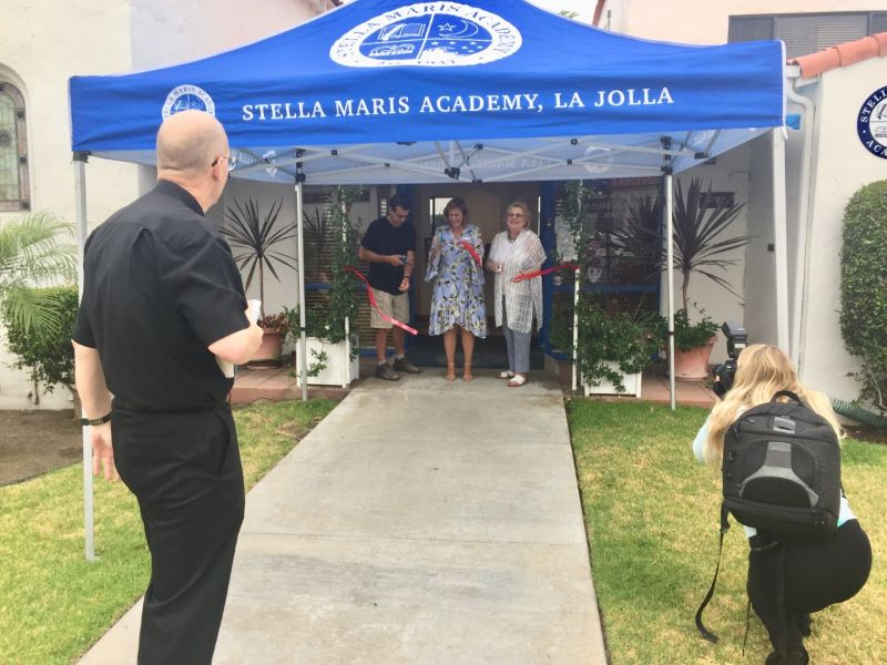 Ribbon Cutting Ceremony at Stella Maris Academy
