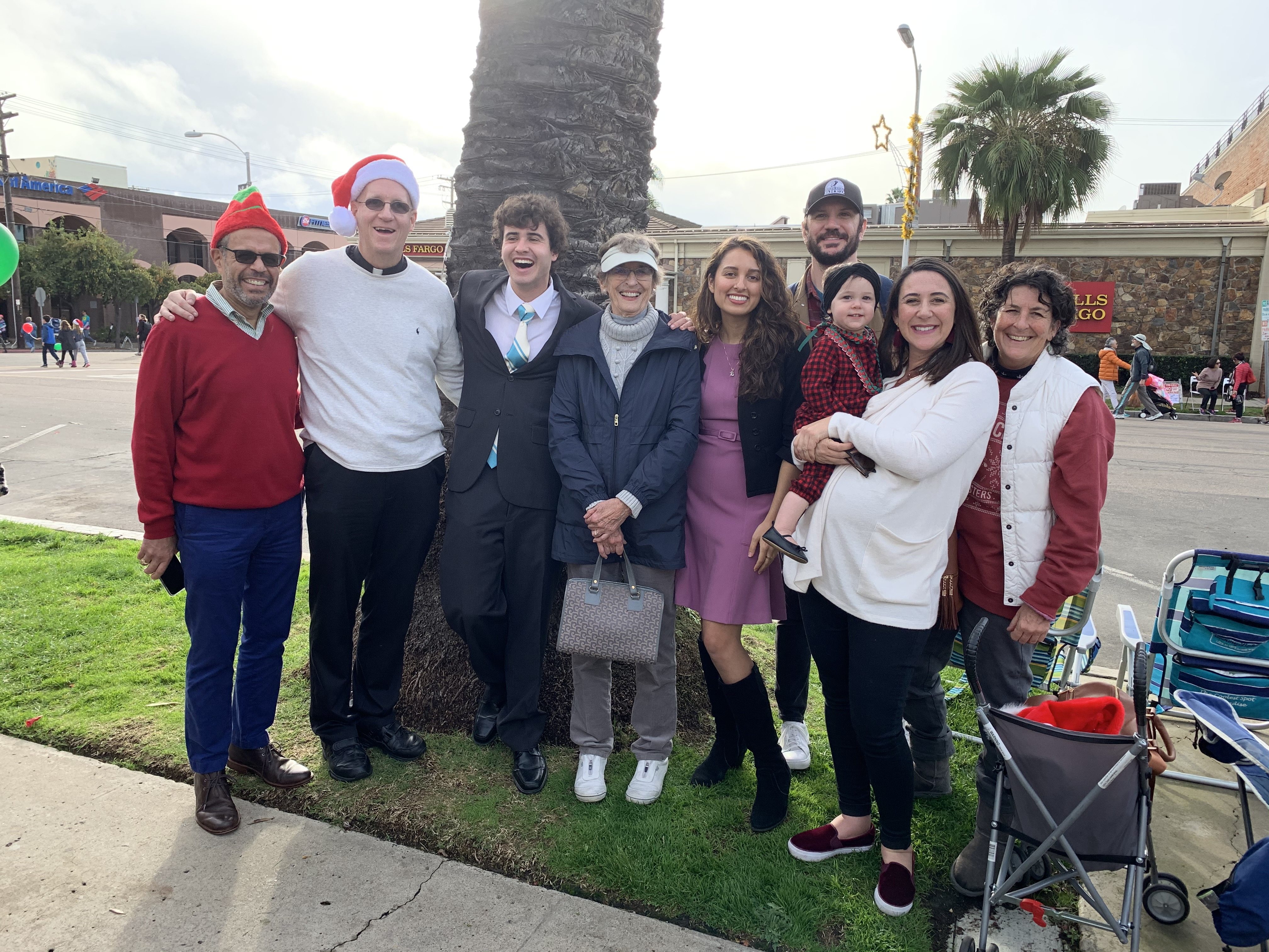 Christmas Parade in La Jolla