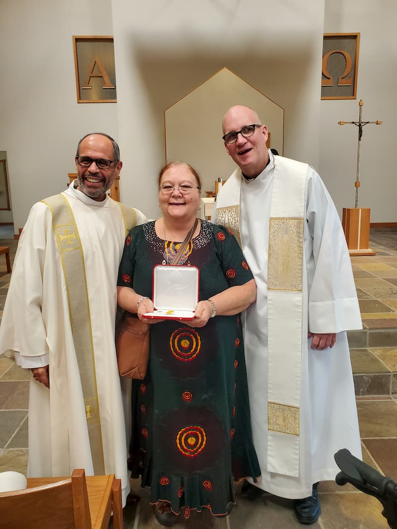 Papal Medal awarded to Long Time Parishioner, Mary Jo Gretsinger