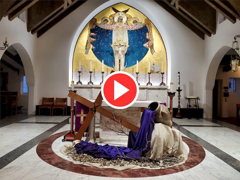 "Fr. Pat Mulcahy Interviewed by La Jolla Light Newspaper to Discuss ""Online Worship"""