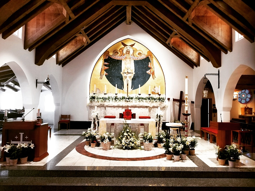Easter Masses Live Streamed by Our Pastor Fr. Pat Mulcahy