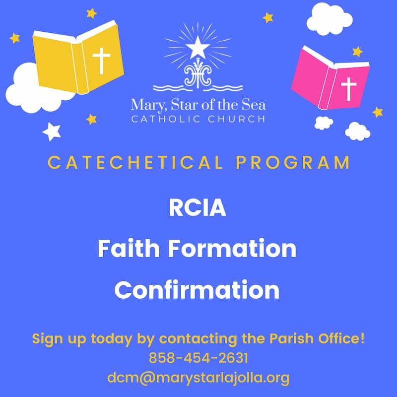Deadline to Sign up for Faith Formation is Coming Up!