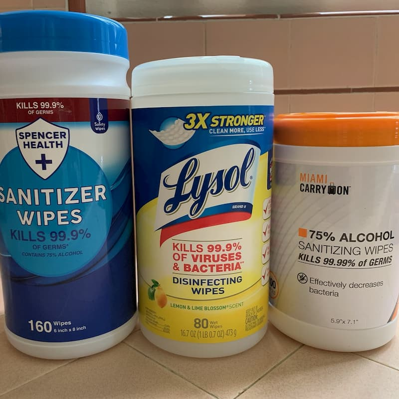 Seeking Donations of Sanitizer Wipes for our Elementary School