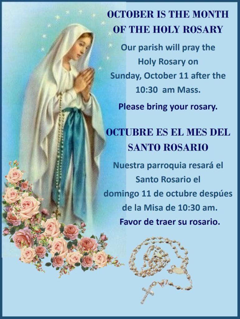Holy Rosary Sunday Mary Star Of The Sea