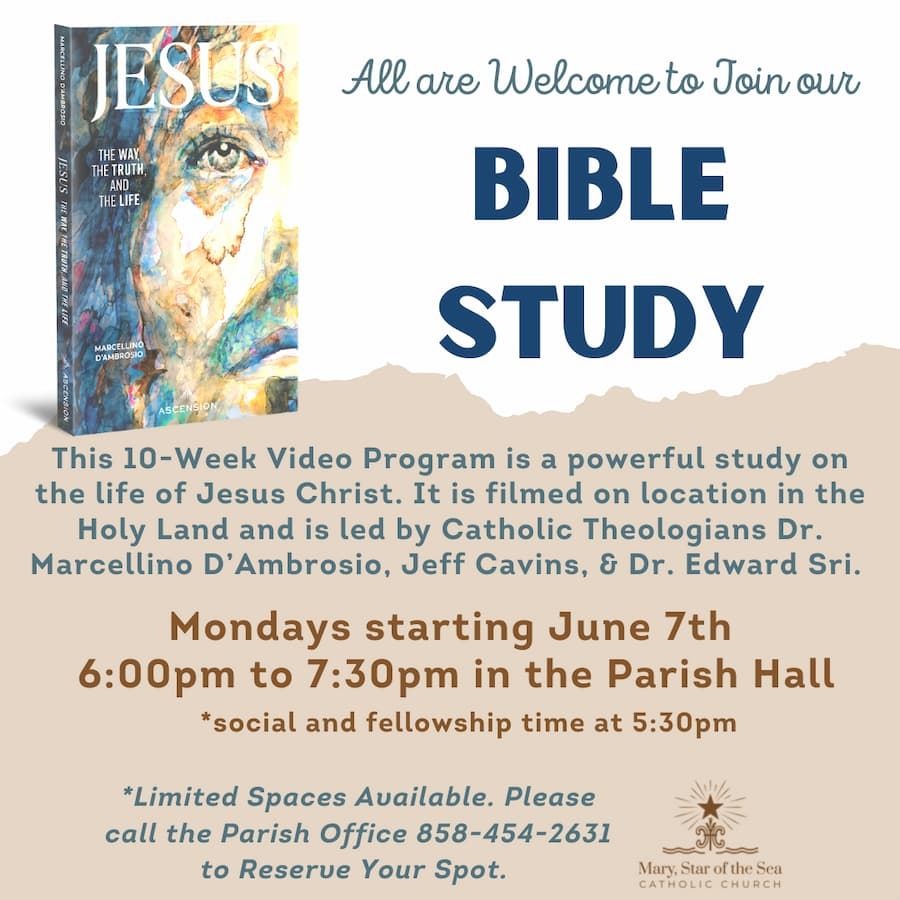 10 Week Bible Study Starting June 7th
