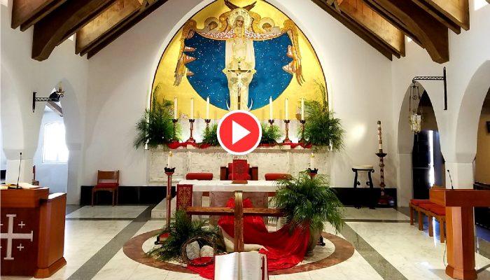 Palm Sunday Live Streamed